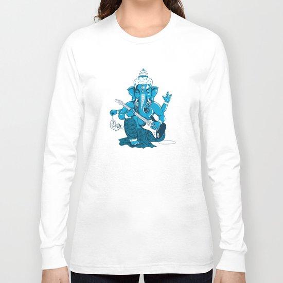 Ganesha rocks ! (v3) Long Sleeve T-shirt
