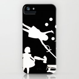 Negative iPhone Case