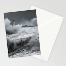 Winter Nor'Easter Stationery Cards