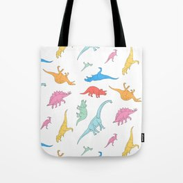 Dino Doodles Tote Bag