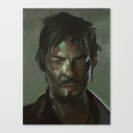 Daryl the Zombie Hunter Canvas Print