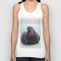pigeon Tank Tops featuring Pigeon by PKennyPhoto