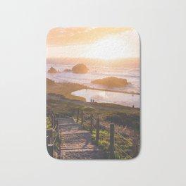 Sunset At Sutro Baths - San Francisco, CA Bath Mat