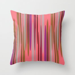 Peakwold (Red) Throw Pillow