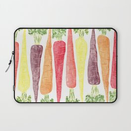 Rainbow Carrots (Wide) Laptop Sleeve