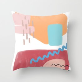 Wall of Wonders Throw Pillow