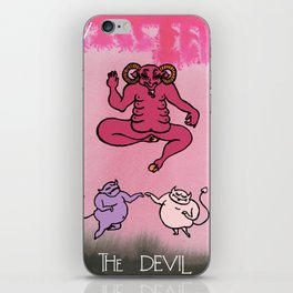 Queer Alchemy: The Devil iPhone Skin