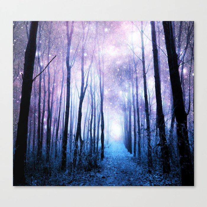 Fantasy Forest Path Canvas Print
