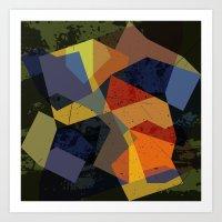 abstract  / 048 Art Print