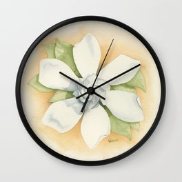 Graceful Symmetry–Watercolor Wall Clock