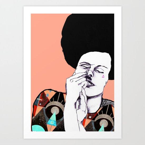 Inside Issue Art Print