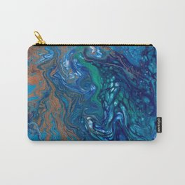 Mermaid Marble Carry-All Pouch