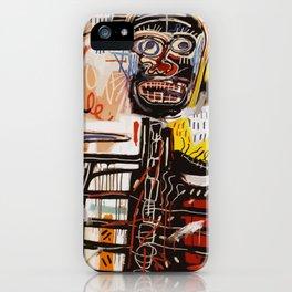 A vectorised Basquiat iPhone Case