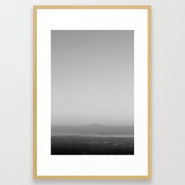 Foothills Framed Art Print