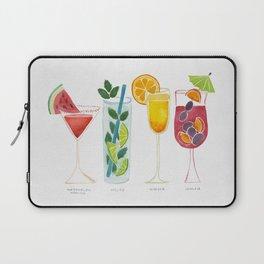 Summer Cocktail Trio Laptop Sleeve