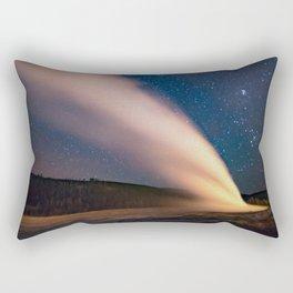 Old Faithful & New Moon Rectangular Pillow
