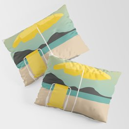 Yellow Sunset Pillow Sham