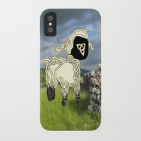 lamb iPhone & iPod Cases featuring Lamb by Knot Your World