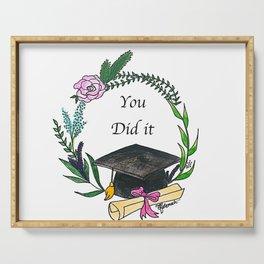 Graduation Serving Tray