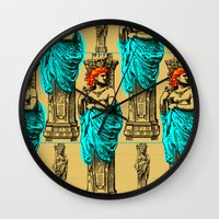 antique Wall Clocks featuring Antique by CottonMouth