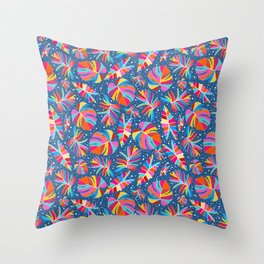 Tropical La La Throw Pillow
