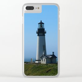 Yaquina Head Light Clear iPhone Case