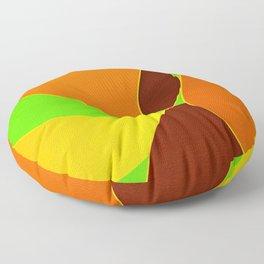 Salome waves Floor Pillow