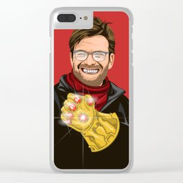 Lets talk about six, baby! Clear iPhone Case