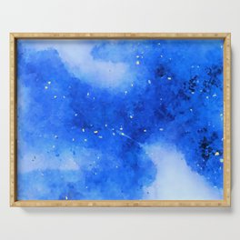 Orion Night Watercolor Serving Tray