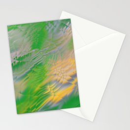 Pearl Green Water Stationery Cards