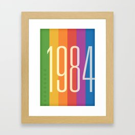 1984 (v) Framed Art Print