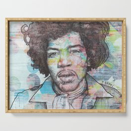 Jimi Hendrix - Can You See Me Serving Tray