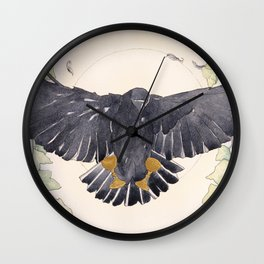 Two of Cups Tarot Wall Clock