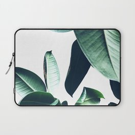 Ficus Elastica #26 #foliage #decor #art #society6 Laptop Sleeve