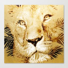 Tiger Palm Canvas Print