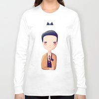 dale cooper Long Sleeve T-shirts featuring Dale by Nan Lawson