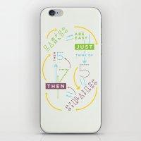 Haikuglyphics - Haikanics iPhone & iPod Skin