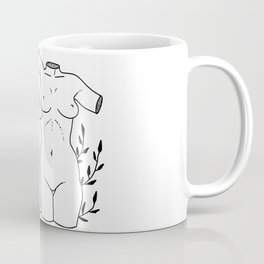 adam and eve - vines Coffee Mug