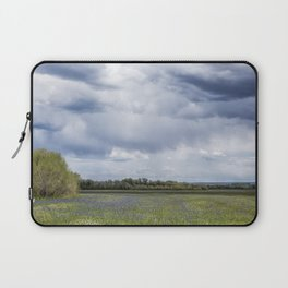 Field of Camas and Dandelions, No. 2 Laptop Sleeve