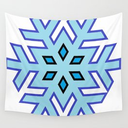 Flake Of Snow Wall Tapestry
