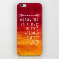 fangirl iPhone & iPod Skins featuring Fangirl by solMKC