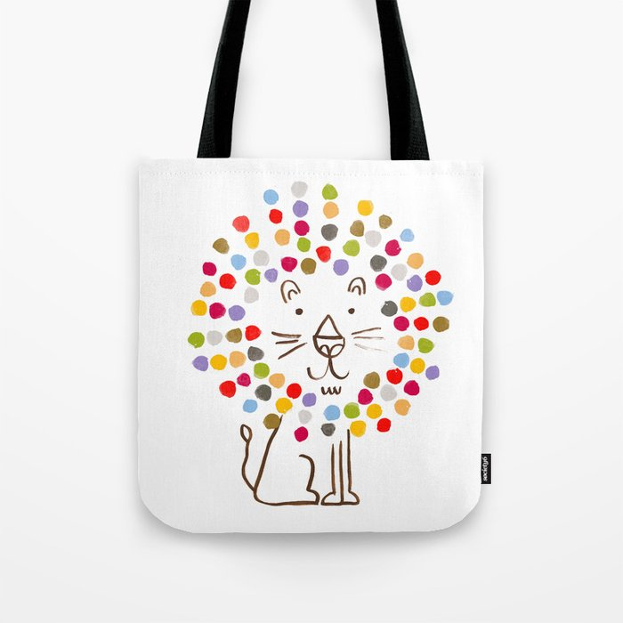 Dandy Lion Tote Bag