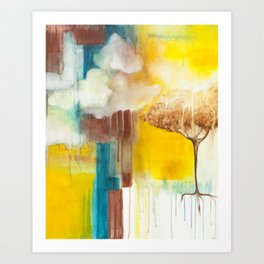 Spilling Light Art Print