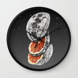 Lunar Fruit Wall Clock
