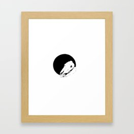 WHORES Framed Art Print