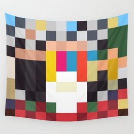 Sgt. Pixel Wall Tapestry