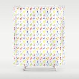 Symbol of Transgender 34 Shower Curtain