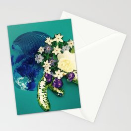 Garden Circle - Jade Stationery Cards