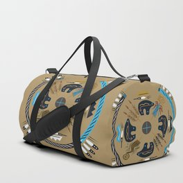 American Native Pattern No. 114 Duffle Bag