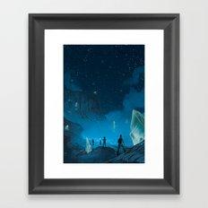 The Ethereal Underground Framed Art Print